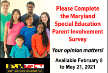 MSDE Special Education Parent Survey