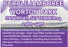 Kent Goes Purple -Purple Jamboree