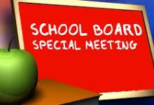 Special Board Meetings