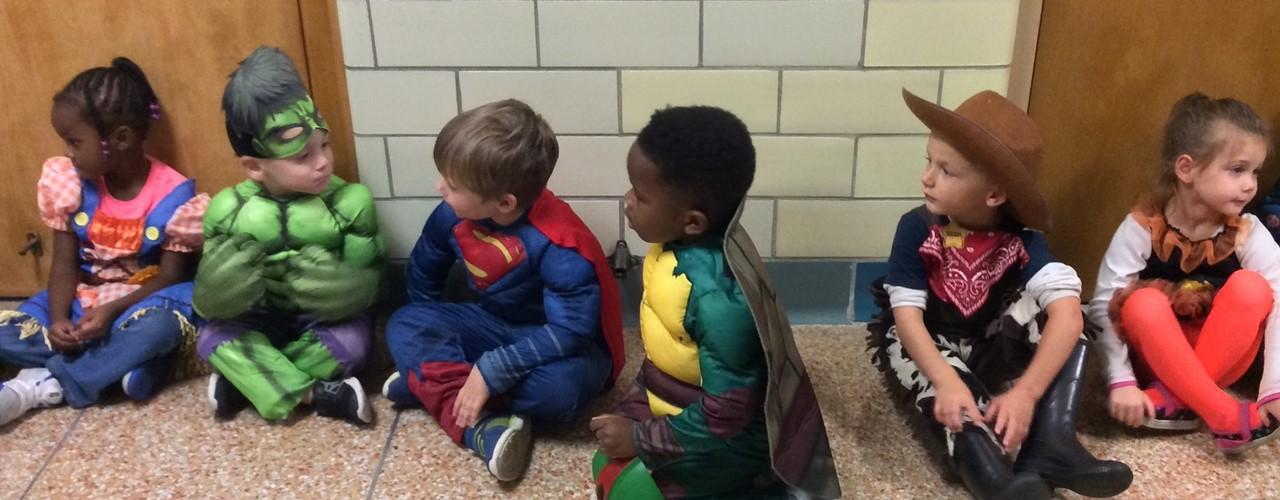 RHES Halloween - Pre-K students slideshow image