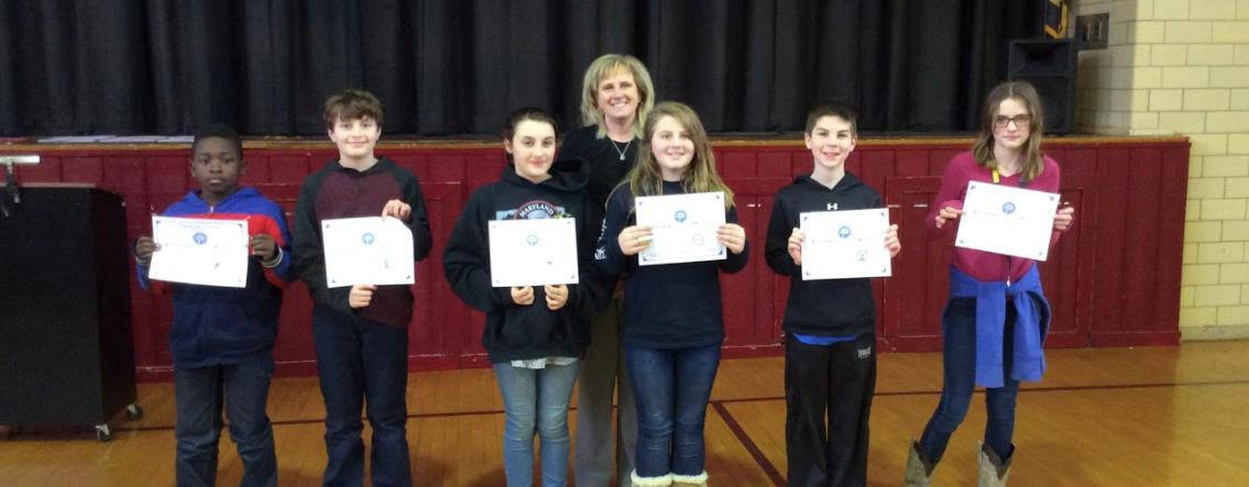 Mrs. Seip's Character Counts Award Winners! slideshow image