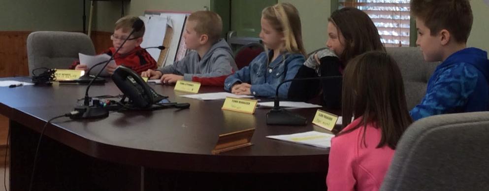 4th Grade Town Hall Visit slideshow image