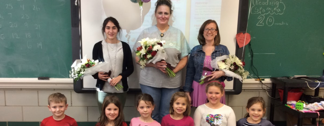 Congratulations Rachael Gugasian - GALES Promising Educator of the Year, Becky Curran - GALES Support Person of the Year, Erin Legg - GALES Teacher of the Year slideshow image