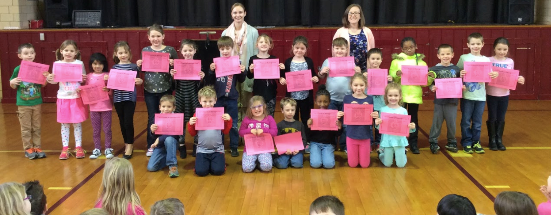 First Grade SOAR awards! slideshow image