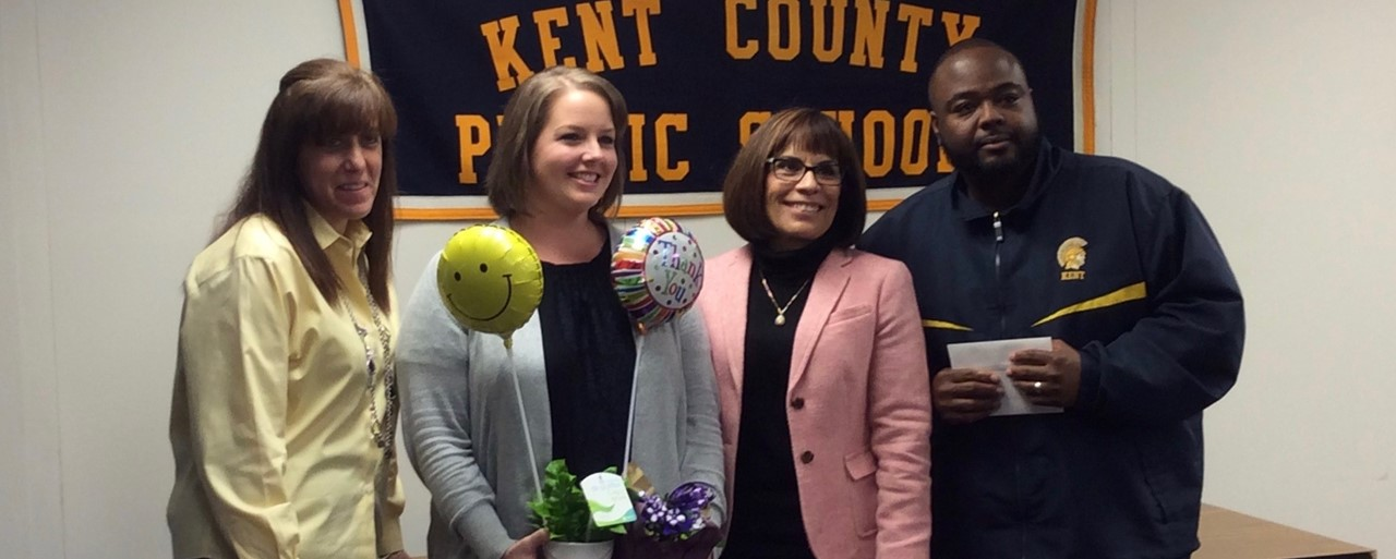 2018 Central Office Support Employee of the Year Hannah Kelley slideshow image