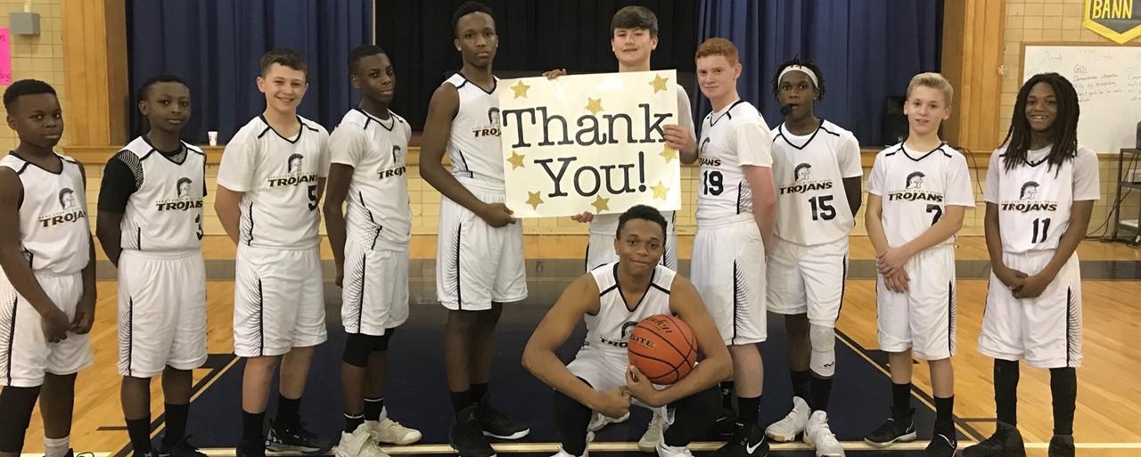 KCMS Boys' Basketball  slideshow image