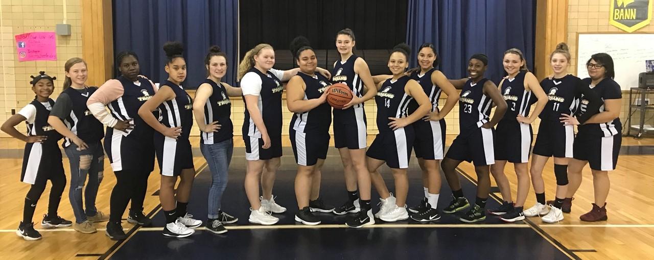KCMS Girls' Basketball slideshow image