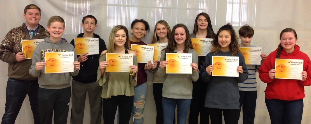 8th Grade High Honors slideshow image