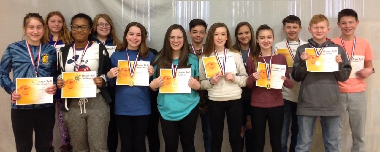 7th Grade High Honors slideshow image