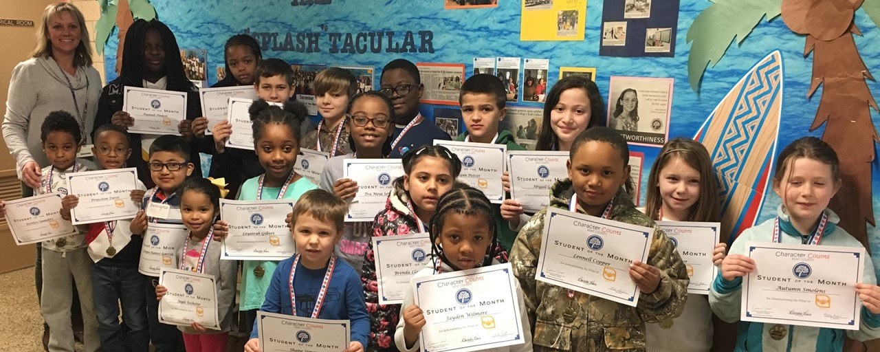 February Students of The Month slideshow image