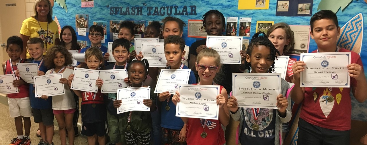 Students of The Month slideshow image