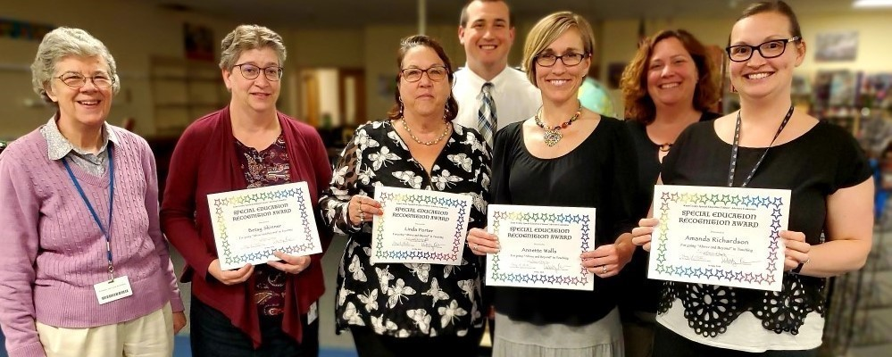 Kent County Special Education Citizens' Advisory Committee Special Education Recognition Award Recipients slideshow image
