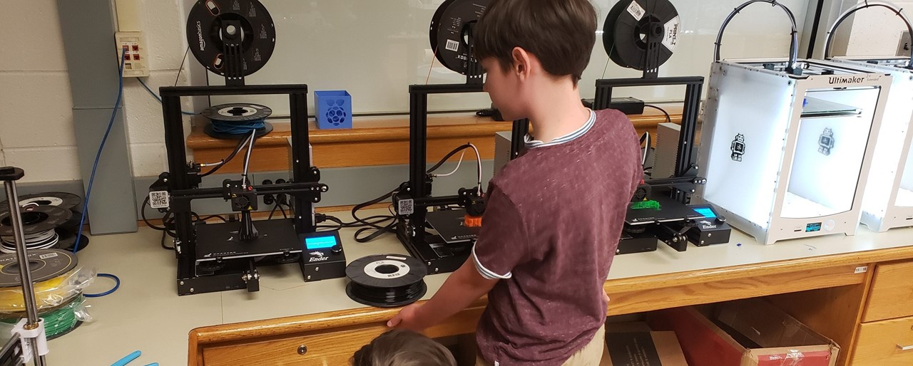 Summer 2019 MakerSpace Camps slideshow image