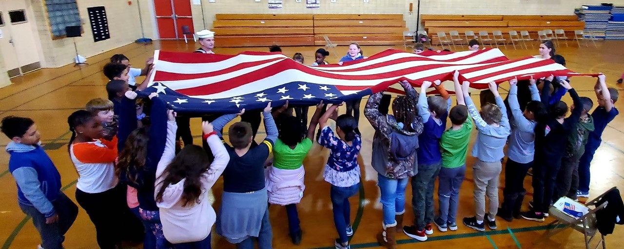 2019 Veterans Day Assembly slideshow image